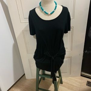 Tierra & Sky blouse and turquoise necklace